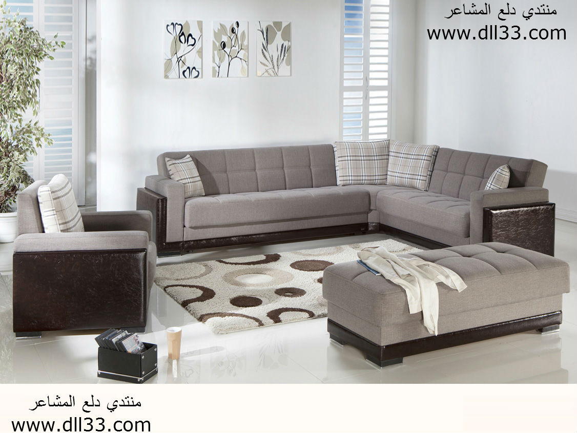 حصري اجمل كنب غرف معيشة 2015 ، Exclusive beautiful sofas living