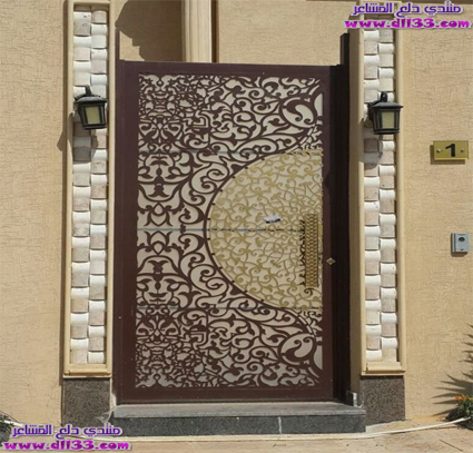 اجمل ديكورات ابواب المنازل الراقية 2018 ، The most beautiful decorations houses doors 2018 1511450319675.jpg