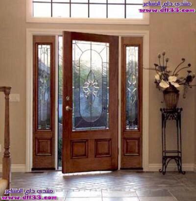 اجمل ديكورات ابواب المنازل الراقية 2018 ، The most beautiful decorations houses doors 2018 1511450319686.jpg