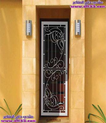 اجمل ديكورات ابواب المنازل الراقية 2018 ، The most beautiful decorations houses doors 2018 1511450319697.jpg