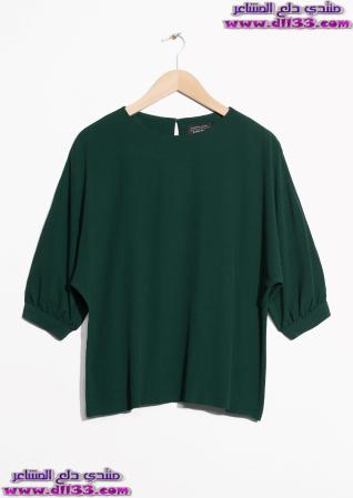 اشيك موديلات ازياء بلوزات للبنات 2018 ، Ashik fashion models sweatshirts for girls 2018 1512930784711.jpg
