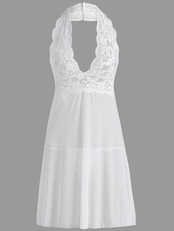 موديلات قمصان نوم ناعمة باللون الابيض لعروس 2018 1516280408776.jpg
