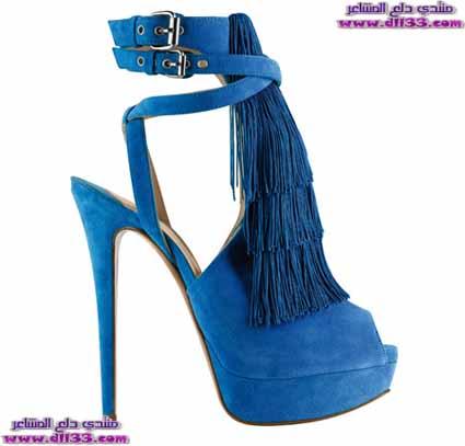 اشيك موديلات صنادل نسائية زرقاء 2018 ، Ashik models women 's blue sandals 2018 1516710252635.jpg