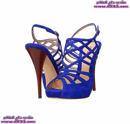 اشيك موديلات صنادل نسائية زرقاء 2018 ، Ashik models women 's blue sandals 2018 1516710252646.jpg