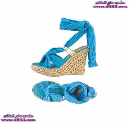 اشيك موديلات صنادل نسائية زرقاء 2018 ، Ashik models women 's blue sandals 2018 1516710252647.jpg