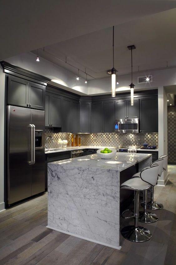 احدث تصاميم مطبخ امريكي لمنزل عصري انيق 2018 151800520466.jpg