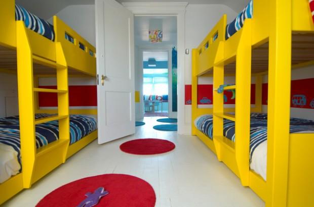 بالصور ديكورات غرف نوم اطفال بألوان عصرية مبهجة حصري 2018 1518186581571.jpg