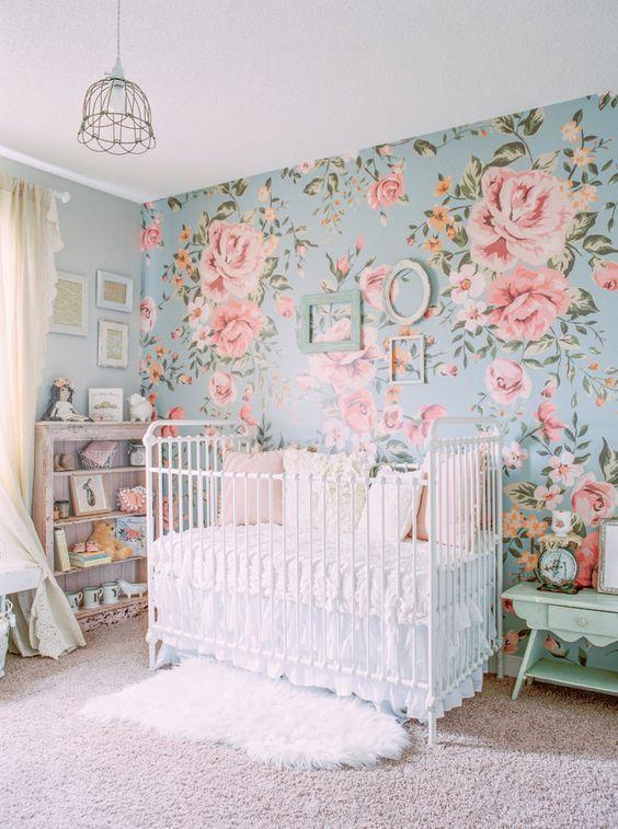 اجمل تصاميم ورق جدران غرف نوم اطفال 2018   مجتمع رجيم