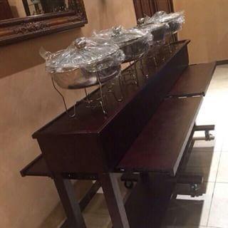 طاولات البوفيه -البوفيه المنزليه العصريه 1518642154845.jpg