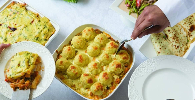 طريقة صينية كرات البطاطس بالدجاج