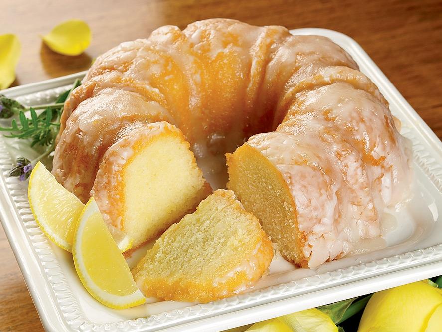 كيكة الليمون السهله