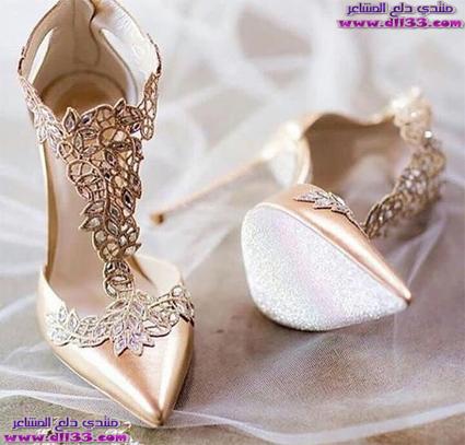 اشيك صور احذية بناتي للزواج 2019 ، Photos of girls shoes for marriage 1539253050852.jpg