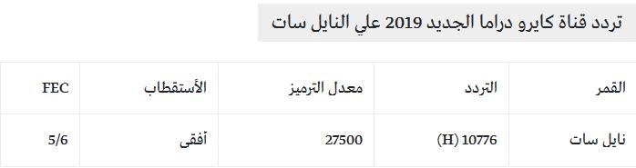 تردد قناة كايرو دراما الجديد 2019 Cairo Drama TV نايل سات 1567190906716.png