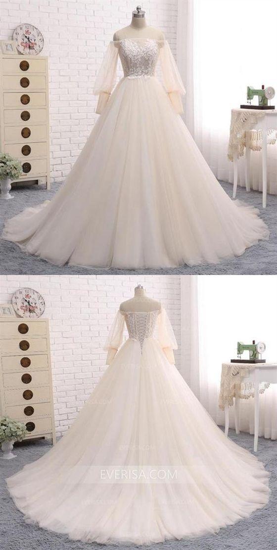 فساتين زفاف منفوشة فخمة وانيقة 1578927909621.jpg