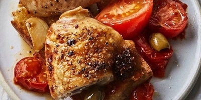 الدجاج بالفلفل الحار مع الزيتون والثوم المشوي 1593375500621.jpg